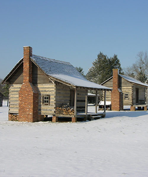 Heritage Village area at Ames