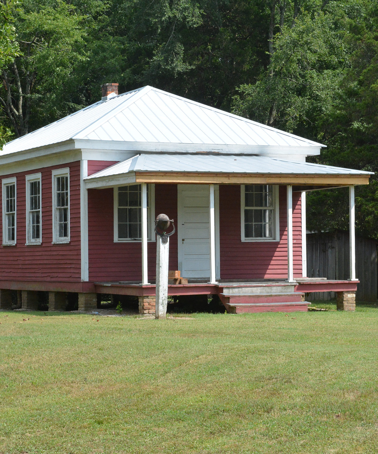 One-room school-house at Ames