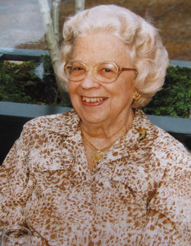 Mrs. Margaret Finely Shackelford