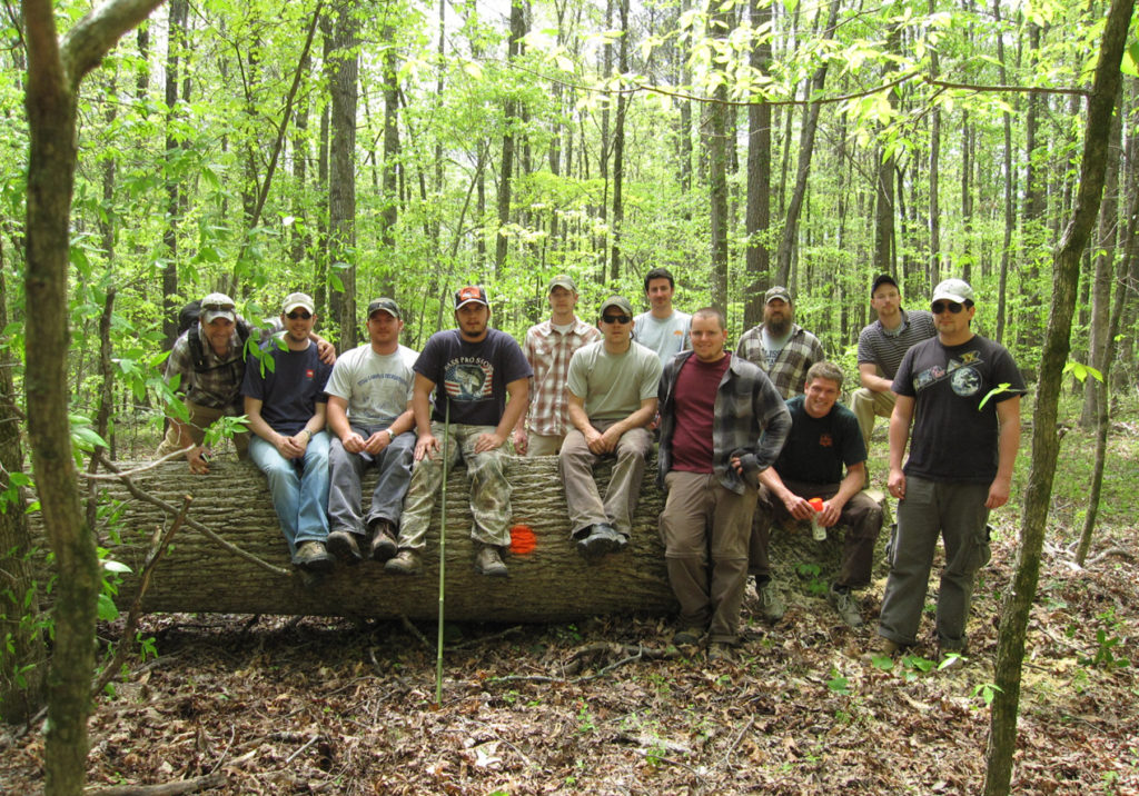 Students get hands-on in every aspect of Silviculture